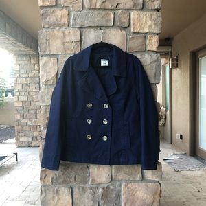 Old navy button down pea coat